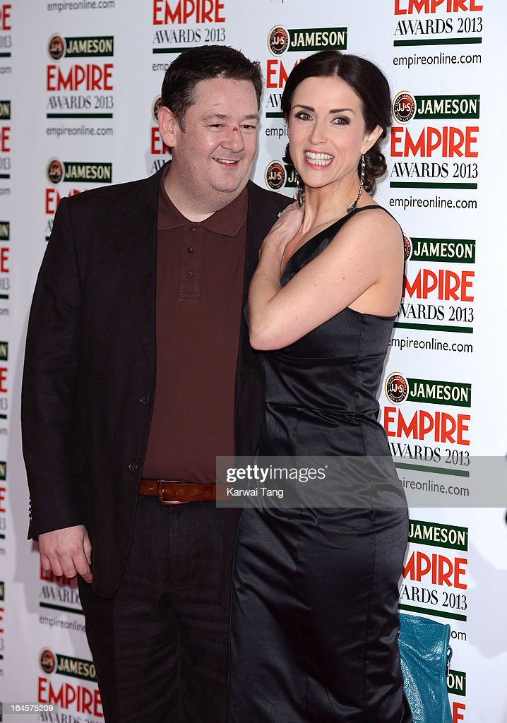 <a gi-track='captionPersonalityLinkClicked' href=/galleries/search?phrase=Johnny+Vegas&family=editorial&specificpeople=204735 ng-click='$event.stopPropagation()'>Johnny Vegas</a> and Maia Dunphy attends the 18th Jameson Empire Film Awards at Grosvenor House, on March 24, 2013 in London, England.