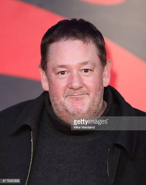 Johnny Vegas arrives for the European Premiere of 'Batman V Superman Dawn Of Justice' at Odeon Leicester Square on March 22 2016 in London England