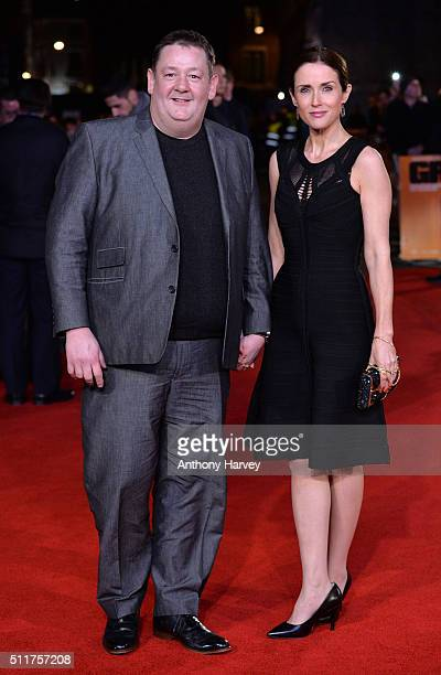Johnny Vegas attands the World premiere of 'Grimsby' at Odeon Leicester Square on February 22 2016 in London England