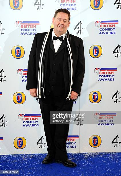 Johnny Vegas attends the British Comedy Awards at Fountain Studios on December 12 2013 in London England