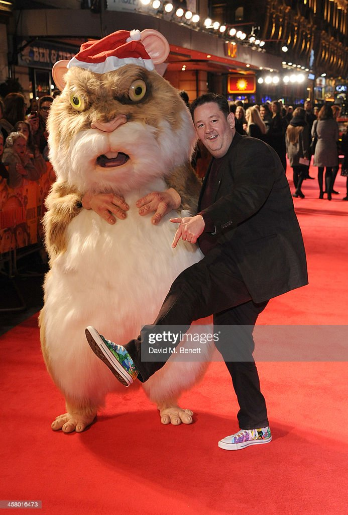 <a gi-track='captionPersonalityLinkClicked' href=/galleries/search?phrase=Johnny+Vegas&family=editorial&specificpeople=204735 ng-click='$event.stopPropagation()'>Johnny Vegas</a> attends 'The Harry Hill Movie' World Premiere at Vue Leicester Square on December 19, 2013 in London, England.