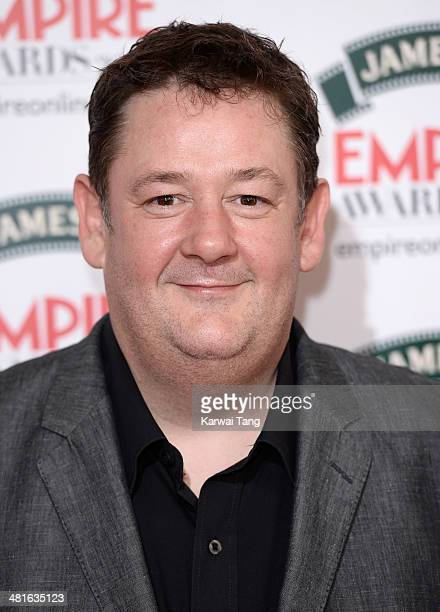 Johnny Vegas attends the Jameson Empire Film Awards at Grosvenor House on March 30 2014 in London England