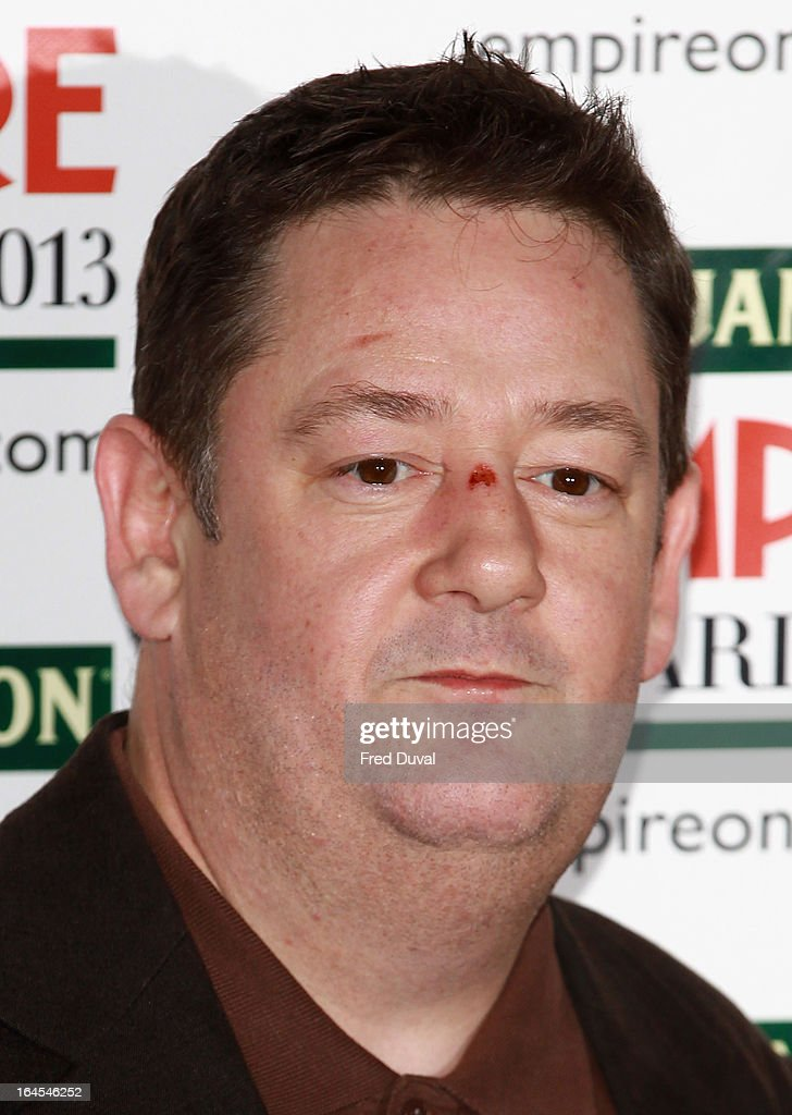 <a gi-track='captionPersonalityLinkClicked' href=/galleries/search?phrase=Johnny+Vegas&family=editorial&specificpeople=204735 ng-click='$event.stopPropagation()'>Johnny Vegas</a> attends the Jameson Empire Film Awards at The Grosvenor House Hotel on March 24, 2013 in London, England.