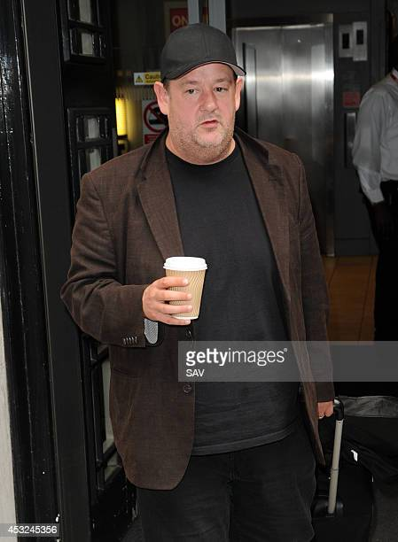 Johnny Vegas pictured at BBC Radio on August 6 2014 in London England