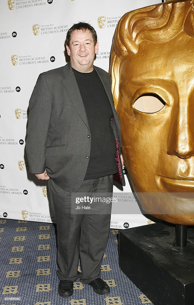 Johnny Vegas poses in the press room at the 'EA British Academy Children's Awards 2009' at The London Hilton on November 29, 2009 in London, England.