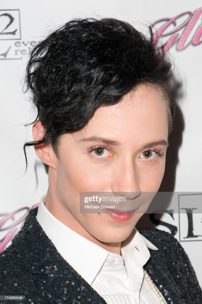 Johnny Weir attends Johnny Weir & Victor Weir-Voronov's Birthday Celebration at Soho Grand Hotel on July 27, 2013 in New York City.