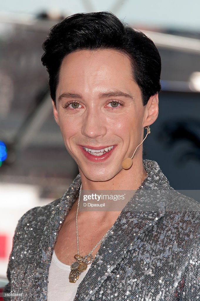 <a gi-track='captionPersonalityLinkClicked' href=/galleries/search?phrase=Johnny+Weir&family=editorial&specificpeople=208701 ng-click='$event.stopPropagation()'>Johnny Weir</a> attends the opening of Jaguar's 'Chill NY' at High Line Park on August 16, 2012 in New York City.