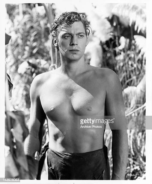 Johnny Weissmuller in Tarzan publicity portrait Circa 1930s
