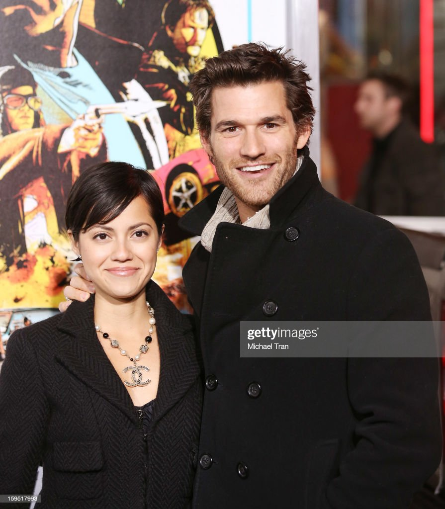 <a gi-track='captionPersonalityLinkClicked' href=/galleries/search?phrase=Johnny+Whitworth&family=editorial&specificpeople=3086907 ng-click='$event.stopPropagation()'>Johnny Whitworth</a> arrives at the Los Angeles premiere of 'The Last Stand' held at Grauman's Chinese Theatre on January 14, 2013 in Hollywood, California.