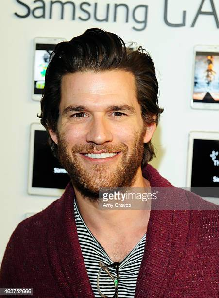 Johnny Whitworth attends the 8th Annual Pieces of Heaven Art Auction Presented by Samsung Galaxy at MAMA Gallery on February 17 2015 in Los Angeles...