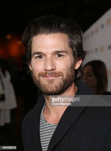 Johnny Whitworth attends the screening of Open Roads Films' 'Spotlight' on November 3 2015 in Los Angeles California
