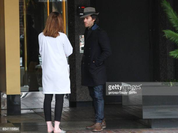 Johnny Whitworth is seen on February 06 2017 in Los Angeles California