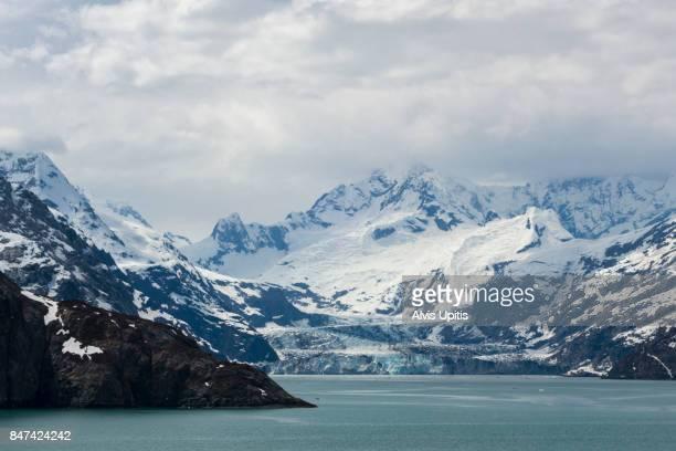 Johns Hopkins Glacier in Glacier Bay National Park and Perserve