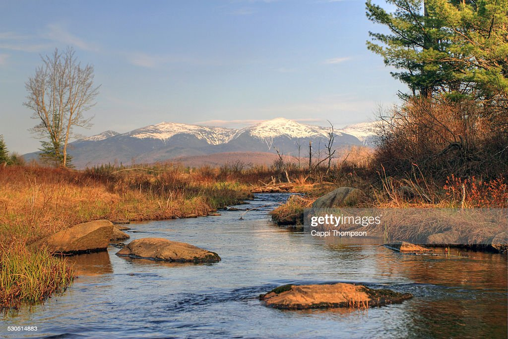 Johns river in the White Mountains New Hampshire