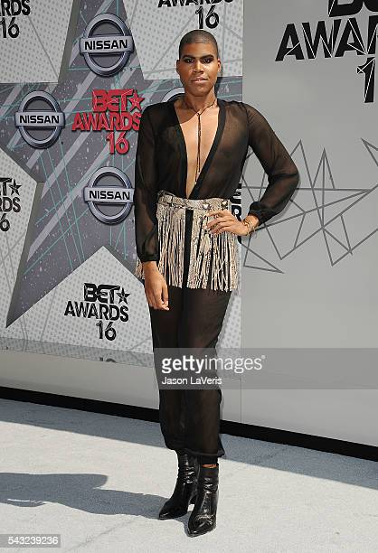 Johnson attends the 2016 BET Awards at Microsoft Theater on June 26 2016 in Los Angeles California