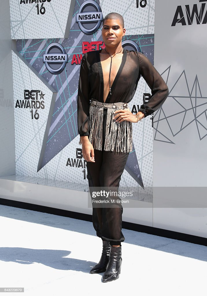EJ Johnson attends the 2016 BET Awards at the Microsoft Theater on June 26, 2016 in Los Angeles, California.