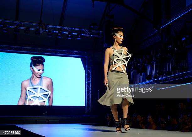 Johnson Interiors/Herman Miller/Workplace Resource entry for the 2015 PretaPorter fashion show Future Undefined hosted by the International Interior...