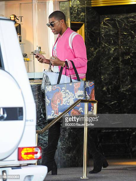 J Johnson is seen on January 27 2017 in Los Angeles California