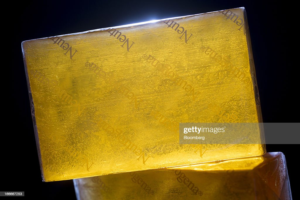 Johnson & Johnson's Neutrogena brand soap is arranged for a photograph in New York, U.S., on Monday, April 15, 2013. Johnson & Johnson is scheduled to release earnings data on April 16. Photographer: Scott Eells/Bloomberg via Getty Images