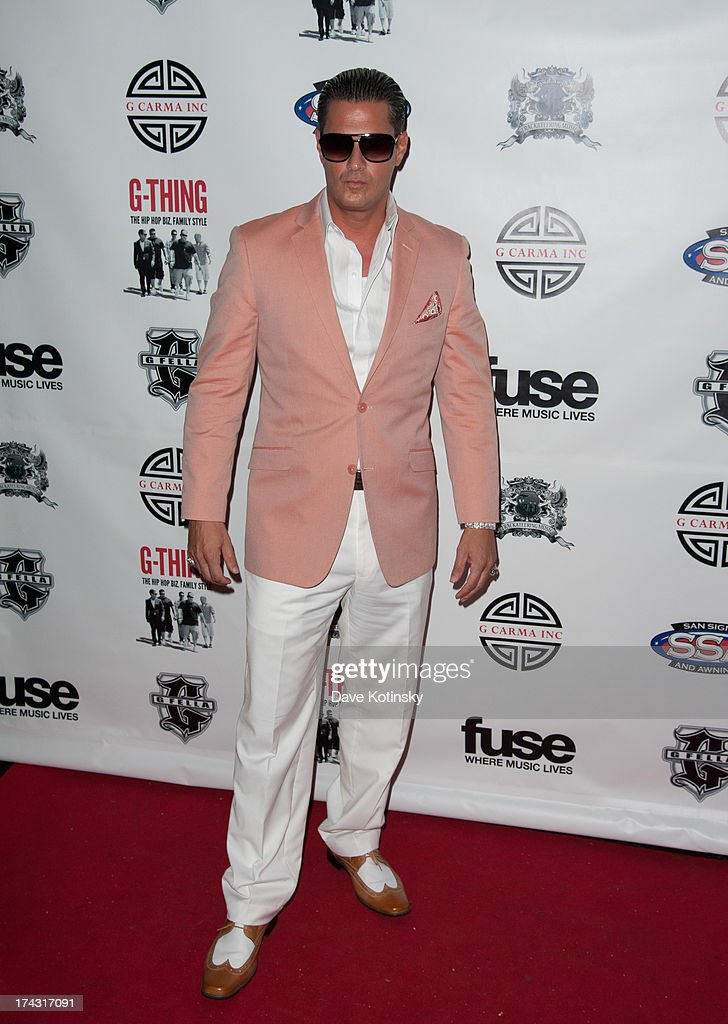 Johny Thursday attends the 'G-Thing' Series Premiere Party at The Griffin on July 23, 2013 in New York City.