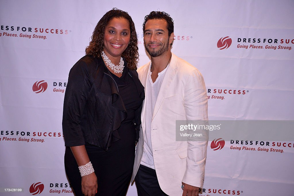 Joi Gordon and Brett Hoebel attend The 9th Annual Success Summit hosted by Dress For Success Worldwide at Epic Hotel on July 13, 2013 in Miami, Florida.