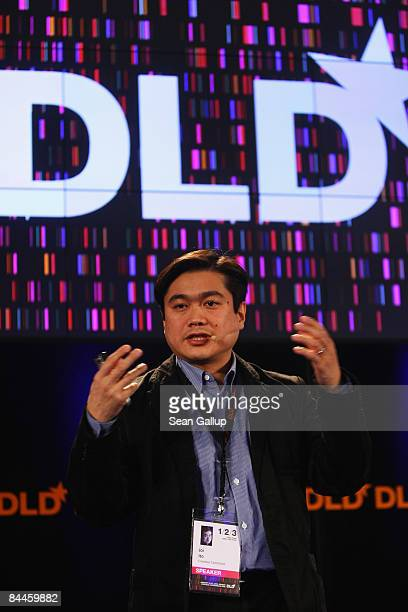 Joi Ito attends the Digital Life Design conference on January 26 2009 in Munich Germany DLD brings together global leaders and creators from the...