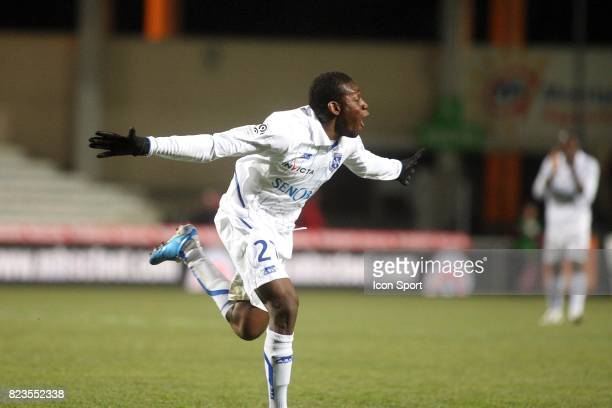 Joie Alain TRAORE Montpellier / Auxerre 18e journee Ligue 1