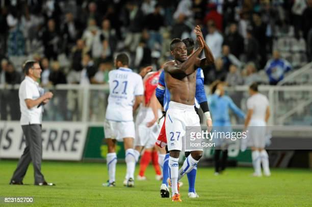 Joie Alain TRAORE Auxerre / Ajaccio 4eme journee de Ligue 1