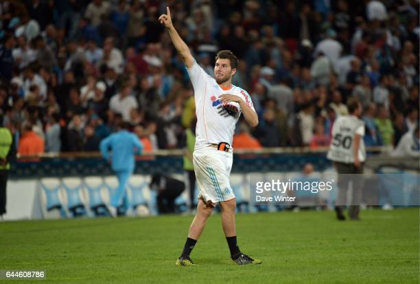 Joie Andre Pierre GIGNAC Paris Saint Germain / Marseille 8e journee Ligue 1 Photo Dave Winter / Icon Sport