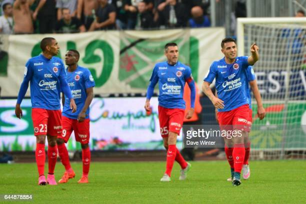 Joie Andy DELORT Caen / St Etienne 9e journee de Ligue 1 Photo Dave Winter / Icon Sport