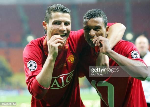 Joie Cristiano RONALDO / NANI Manchester United / Chelsea Finale Champions League 2007/2008 Moscou
