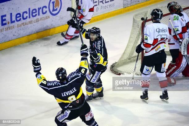 Joie Daultan LEVEILLE Hockey sur glace Rouen / Briancon 1/2Finale Coupe de France Photo Dave Winter / Icon Sport