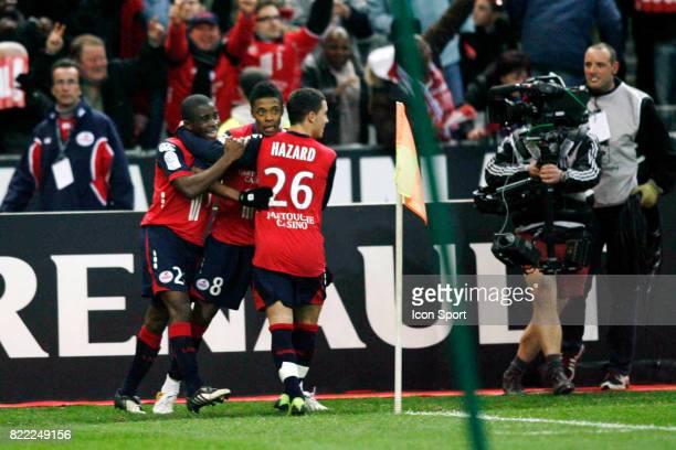 Joie de Lille Lille / Lyon 27 emme journee de Ligue 1 Stade de France