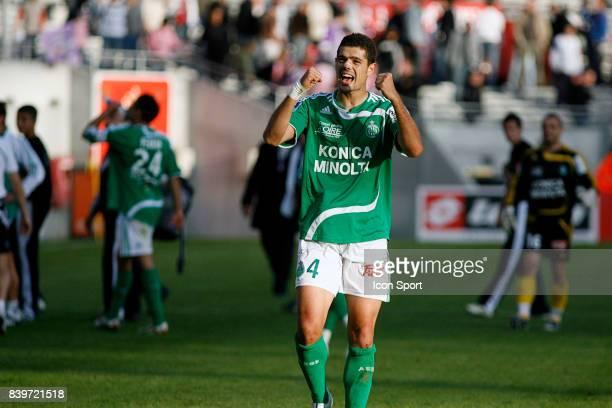 Joie de Loic PERRIN Toulouse / Saint Etienne 11eme journee de ligue 1