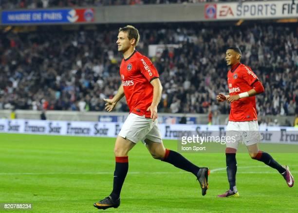 Joie de Mathieu BODMER PSG / Valenciennes 33e journee de Ligue 1