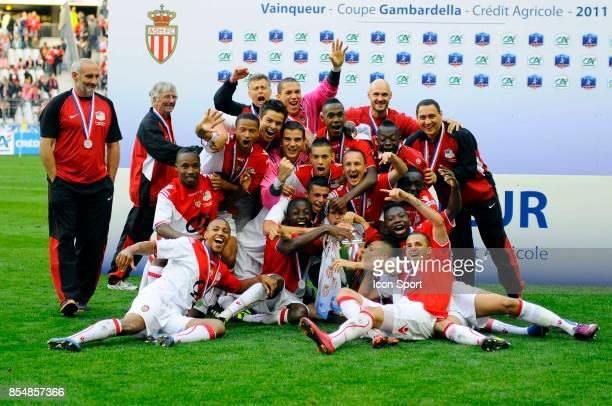 Joie de Monaco Vainqueur de la Coupe Gambardella 2011 PSG / Lille Finale de la Coupe de France 2011 Stade de France