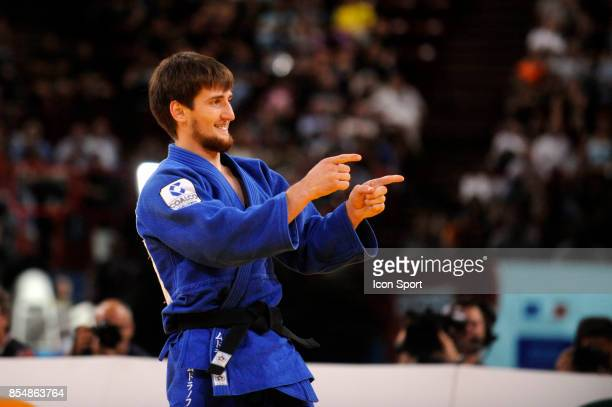 Joie de Musa MOGUSHKOV 66kg Championnats du Monde de Judo 2011 Paris
