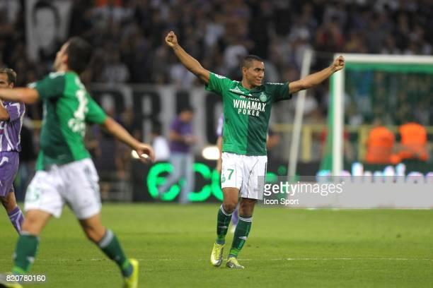 Joie de Saint Etienne Dimitri Payet Toulouse / Saint Etienne 5eme journee de Ligue 1
