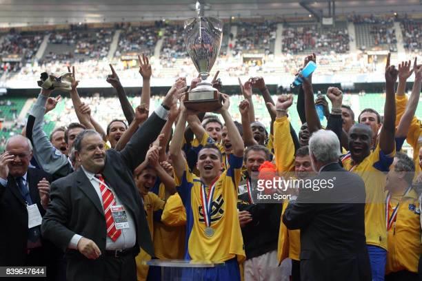 Joie de SOCHAUX Marseille / Sochaux Finale de la Coupe Gambardella