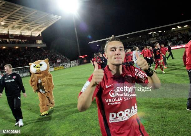 Joie Dijon en fin de match Dijon / Grenoble 36e journee Ligue 2