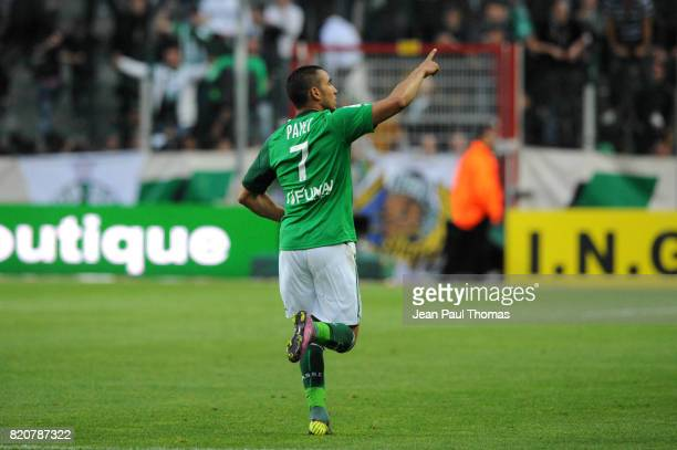 Joie Dimitri PAYET Saint Etienne / Nancy 31e journee Ligue 1