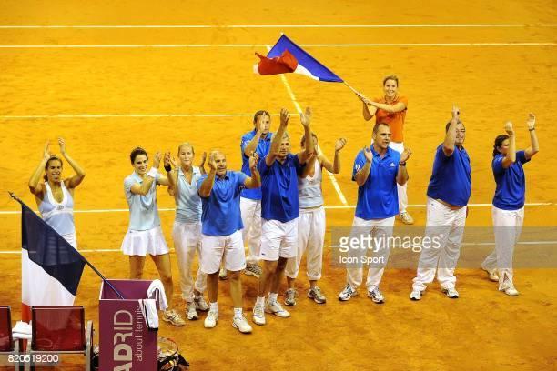 Joie Equipe de France France / Slovaquie Fed Cup Limoges
