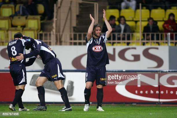 Joie Fernando CAVENAGHI Monaco / Bordeaux 25e journee Ligue 1