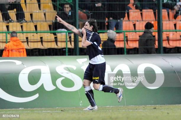 Joie Fernando CAVENAGHI Saint Etienne / Bordeaux 25e journee Ligue 1