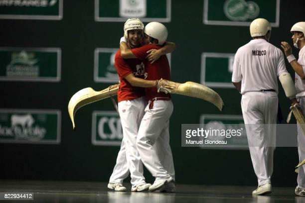 Joie France 16e Championnats du Monde de Pelote Basque Complexe Sportif du Zenith Pau France