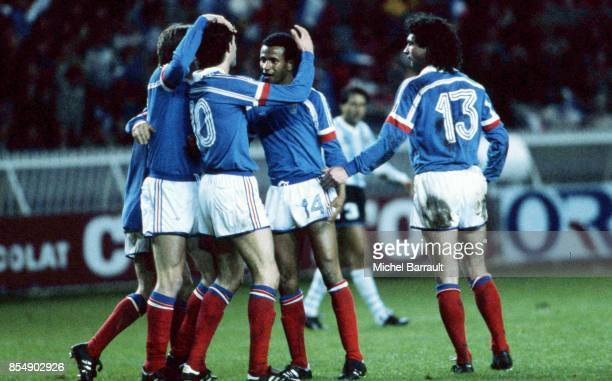 Joie France / Philippe VERCRUYSSE Match amical France / Argentine