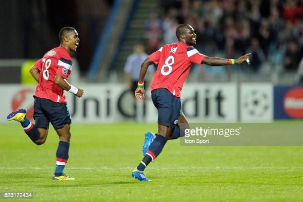 Joie Franck BERIA / Moussa SOW Lille / CSKA Moscou Champions League 2011/2012