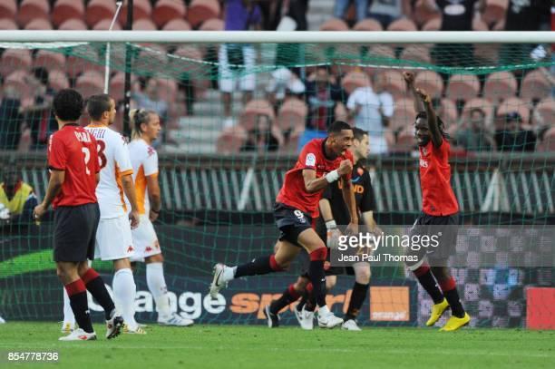 Joie Guillaume HOARAU PSG / As Roma Tournoi de Paris 2010 Parc des princes