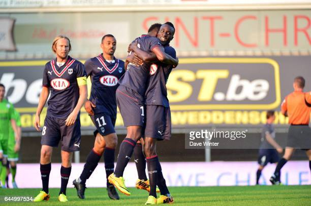 Joie Hadi SACKO / Ludovic SANE Zulte Waregem / Bordeaux match de preparation Photo Dave Winter / Icon Sport