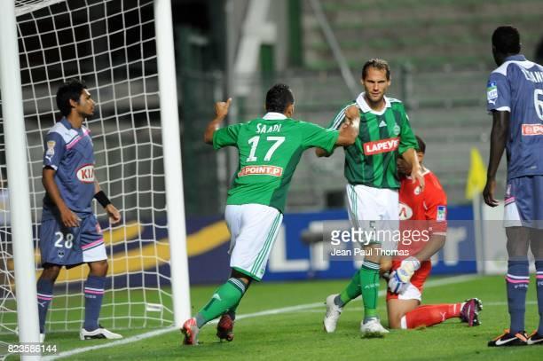 Joie Idriss SAADI Saint Etienne / Bordeaux 16e finale Coupe de la Ligue